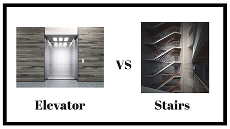 Elevator or Stairs?